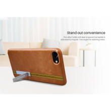 Nillkin ® Apple iPhone 8 Phenom Series Double Industrial Stitch Business Leather Shell Back Cover