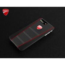 Ducati ® Apple iPhone 8 Plus SCRAMBLER Series Genuine Leather Back Cover