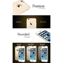 Totu ® Apple iPhone 6 Plus / 6S Plus Thin Jaeger Space Aluminium Silicon Inner Back Cover