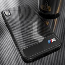 BMW ® Apple iPhone X / XS M SERIES Carbon Fiber + Aluminium Hard Case Back Cover