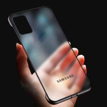 VAKU ® Samsung Galaxy A71 Frameless Semi Transparent Cover