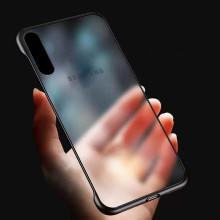 VAKU ® Samsung Galaxy A50 Frameless Semi Transparent Cover