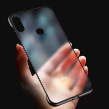 VAKU ® Xiaomi Redmi Note 6 Pro Frameless Semi Transparent Cover
