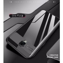 Vaku ® OnePlus 3 / 3T Kowloon Series Top Quality Soft Silicone 4 Frames + Ultra-Thin Transparent Back Cover