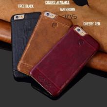 Pierre Cardin ® Apple iPhone 6 Plus / 6S Plus Paris Design Premium Leather Case Back Cover