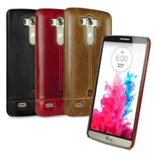 Pierre Cardin ® LG G3 Paris Design Premium Leather Case Back Cover