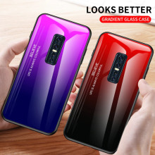 VAKU ® Vivo V17 Pro Dual Colored Gradient Effect Shiny Mirror Back Cover