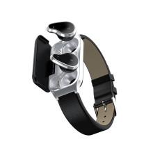 Vaku ® TWS L818 Multifunction Intelligent Bluetooth Earphones Smart Watch + Heart rate Monitor / Blood Pressure Monitor / Sleep Monitor