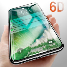 Dr. Vaku ® Xiaomi Redmi 6 Pro 6D Curved Edge Ultra-Strong Ultra-Clear Full Screen Tempered Glass