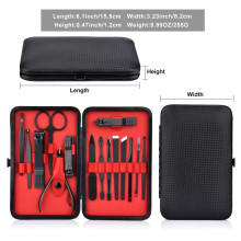 VAKU ® Professional 17-piece Multifunctional Manicure set Nail kit art tools for Manicure and Pedicure