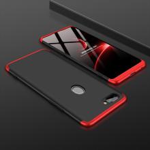 FCK ® Oppo RealMe 2 3-in-1 360 Series PC Case Dual-Colour Finish Ultra-thin Slim Front Case + Back Cover