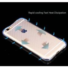 Xuenair ® Apple iPhone 6 Plus / 6S Plus High-Drop Crash-Proof Ultra Guard Series Three-Layer Protection TPU Back Cover Transparent