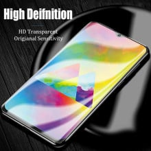Dr. Vaku ® Samsung Galaxy A50 5D Curved Edge Ultra-Strong Ultra-Clear Full Screen Tempered Glass