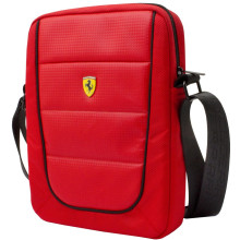 Ferrari Scuderia ® Tablet Bag 8' Red - Black - Piping