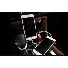 Ferrari ® 5V / 4.8 A Dual USB Output car charger-Red