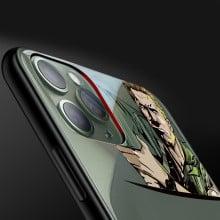 Vaku ® Apple iPhone 11 Pro Max Terminator Rocket Launcher Designer Print Transparent Back Cover
