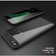 Vaku ® OPPO A71 Kowloon Series Top Quality Soft Silicone  4 Frames plus ultra-thin case transparent cover