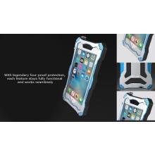 R-JUST ® Apple iPhone 6 / 6S Gundam 2M Waterproof/Shockproof/Dirtproof/Snowproof with Gorilla Glass Aluminium Alloy Metal Case Back Cover
