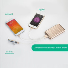 Joyroom ® Suitcase Body Style 6800mAh with 3-in-1 Cable for Android/Apple Lightweight 6,800 mAh Power Bank