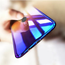Vaku ® OnePlus 5T Infinity Series with UV Colour Shine Transparent Full Display PC Back Cover
