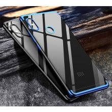 Vaku ® Xiaomi Redmi Note 6 Pro CAUSEWAY Series Electroplated Shine Bumper Finish Full-View Display + Ultra-thin Transparent Back Cover