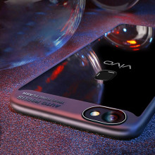 Vaku ® Vivo Y83 Kowloon Series Top Quality Soft Silicone 4 Frames + Ultra-thin Case Transparent Cover