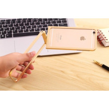 R-JUST ® Apple iPhone 6 / 6S Bluetooth Remote Shutter 360 Rotation + Inbuilt Selfie Stand Aluminium Metal Bumper