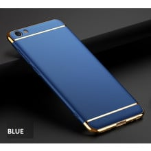 Vaku ® Oppo A71 ( 2018 ) / A71 Ling Series Ultra-thin Metal Electroplating Splicing PC Back Cover