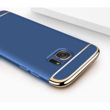Vaku ® Samsung Galaxy S6 Edge Ling Series Ultra-thin Metal Electroplating Splicing PC Back Cover