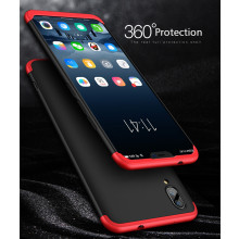 FCK ® Vivo X21 5-in-1 360 Series PC Case Dual-Colour Finish Ultra-thin Slim Front Case + Back Cover