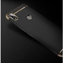Vaku ® Vivo V9 Ling Series Ultra-thin Metal Electroplating Splicing PC Back Cover
