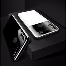 Vaku ® Xiaomi Redmi 6 Pro Polarized Glass Glossy Edition PC 4 Frames + Ultra-Thin Case Back Cover
