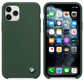 BMW ® For Apple iPhone 11 Pro Max Signature Series Silicon Luxurious Case Limited Edition Back Cover
