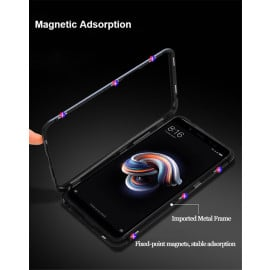 Vaku ® Xiaomi Redmi Note 6 Pro Electronic Auto-Fit Magnetic Wireless Edition Aluminium Ultra-Thin CLUB Series Back Cover