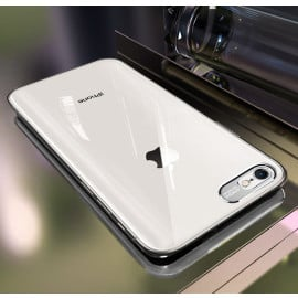 Vaku ® Apple iPhone 5 / 5s / SE Metal Camera Ultra-Clear Transparent View with Anodized Aluminium Finish Back Cover
