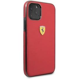 Scuderia Ferrari ® F8 Tributo Design Apple iPhone 11 Pro Metallic Finish Back Cover -Red