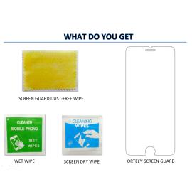 Ortel ® Micromax A350 F&B / Canvas Night Screen guard / protector
