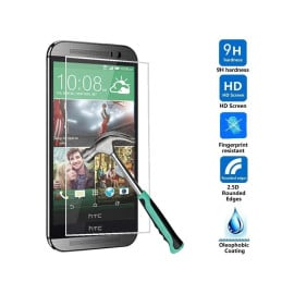 Dr. Vaku ® HTC One M7 Ultra-thin 0.2mm 2.5D Curved Edge Tempered Glass Screen Protector Transparent