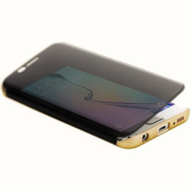 Rock ® Samsung Galaxy S6 Edge DR.Vaku Invisible SmartView Translucent Touch Case Flip Cover