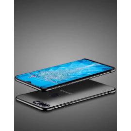 VAKU ® Oppo A7 Frameless Semi Transparent Cover (Ring not Included)