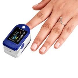 Dr Vaku Swadesi Pulse Oximeter Finger Pulse Blood Oxygen SpO2 Monitor FDA CE Approved   Make in India