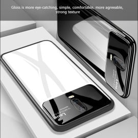 Vaku ® OnePlus 7 Polarized Glass Glossy Edition PC 4 Frames + Ultra-Thin Case Back Cover