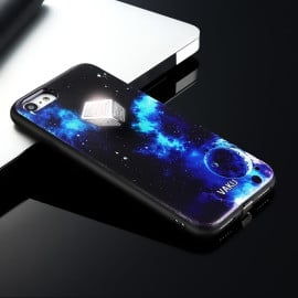 VAKU ® Apple iPhone 8 Universe EDITION First LED Light Illuminated Logo 3D Designer Case Back Cover