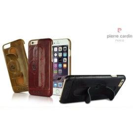 Pierre Cardin ® Apple iPhone 6 Plus / 6S Plus Paris Design Premium Leather Case with Inbuilt Stand Back Cover