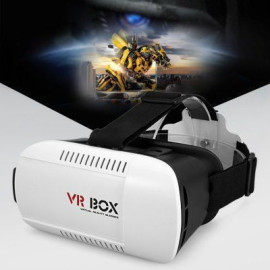 VR BOX Version 3D Virtual Reality VR Glasses Headset Smart Phone 3D Private Theater for 4.7 - 6.0 inches Smartphone
