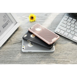 ioop ® Apple iPhone 6 / 6S Woven Perforated PC Knitting Heat Dissipation Majestic Back Cover