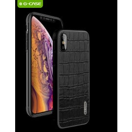 G-Case ® Apple iPhone XS MAX Croc pattern leather Monte Carlo Series