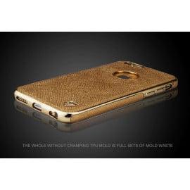 MeePhone ® Apple iPhone 6 / 6S Elegant Series TPU England Wind Struck Back Cover