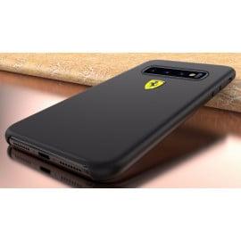 Ferrari ® Samsung Galaxy S10 Plus Liquid Silicon Luxurious Case Limited Edition Back Cover