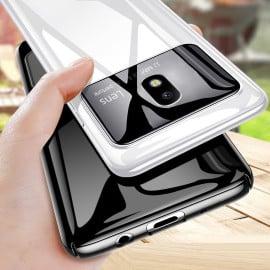 Vaku ® Samsung Galaxy J7 PRO Polarized Glass Glossy Edition PC 4 Frames + Ultra-Thin Case Back Cover